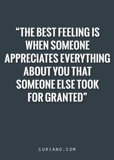 Yesss! That's when they know your value and worth... They treat you like the queen you truly are.