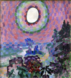 Robert Delaunay (French, 1885-1941), Paysage au Disque, 1906. Oil on canvas, 54 x 46 cm.