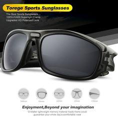 8105543fa1c SeaDog Jack SDJ - TOREGE Polarized Unisex Sport Sunglasses - UV400 Price   26.89   FREE