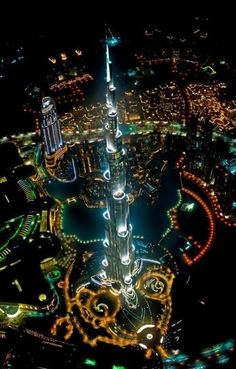 Burj Kalifa, Dubai  En speciaal voor Peer nog een fotootje!
