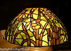 """For Sale - Dale Tiffany Daffodil Stained Glass Lamp Shade -- 16"""" NEW"""