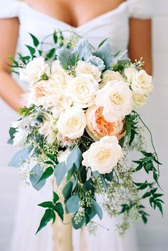 18 Green Wedding Florals To Add Naturalness To Your Wedding ❤️ See more: http://www.weddingforward.com/green-wedding-florals/ #wedding #bouquets