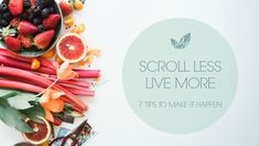 Scroll Less, Live More – Tips for a Healthier Relationship With Social Media via // Here are some simple tips to take back control over social media and live more fully! Includes some links for nourishing rituals to replace mindless scrolling :) Healthy Relationships, Happy Life, Social Media, Shit Happens, Live, Random, Simple, Blog, Inspiration