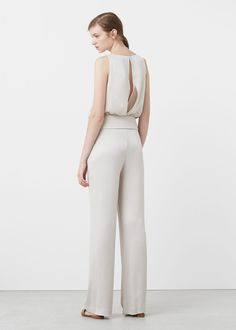 Evening dress jumpsuits mango