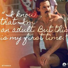 Milo Ventimiglia as Jack Pearson on This is Us Best Series, Best Tv Shows, Best Shows Ever, Favorite Tv Shows, Tv Quotes, Movie Quotes, Qoutes, Movies Showing, Movies And Tv Shows