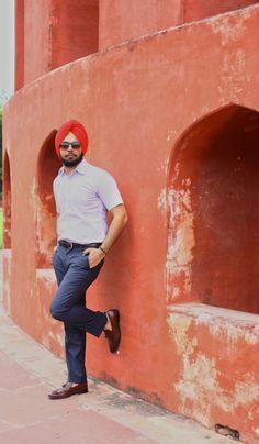 Men's Fashion Urban Sardar - Sure full sleeves can make you appear formal...