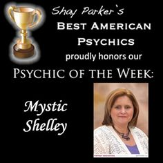 Mystic Shelley Psychic Of the week