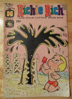 RICHIE RICH Comic Book (Jun 1970) Harvey Comics (Vol. 1, No. 94)!!!