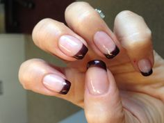 Wicked French Manicure