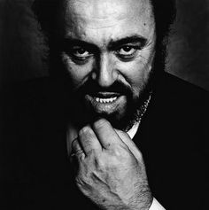 Luciano Pavarotti by Nigel Perry