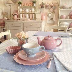 Para você que gosta de coisinhas fofas e quer deixar a cozinha charmosa... inspirações delicadas