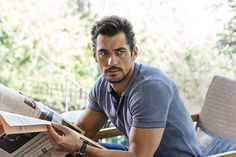 David Gandy Tumblr — David Gandy interview and cover for The Jackal...