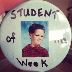 Pin for Later: Celebrities Share the Ultimate Throwback Pictures  Benji Madden threw back to his memory of being the student of the week in elementary school. Source: Tumblr user everybodylovesthebman