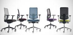 Italian design net chair Evoque by Quinti, design Iiro Viljanen