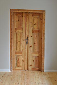 Renovation of antique, rustic doors