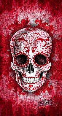 Add LIFE to your Living Space with the art style of Digoil Renowned   SUGAR SKULLS