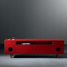 Madia Stereo Caixa - design Paolo Cappello - Miniforms