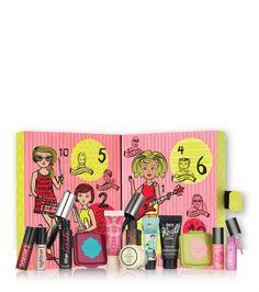 girl o'clock rock - 12 days of Christmas advent calendar   Benefit Cosmetics // want so bad