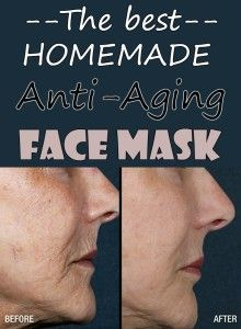 Words... Absolutely homemade anti aging facial