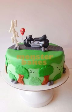 Patchwork design birthday cake Kids Birthday Pinterest