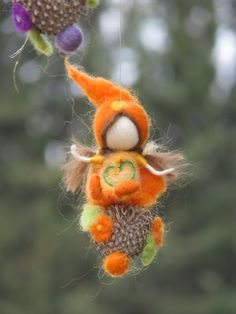 Those are just SoOooo adorable !!! Fairies Merrygoround needle felted children by Made4uByMagic, $115.00