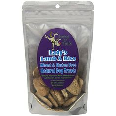 Chasing Our Tails Lady's Lamb and Rice Natural Dog Treats. Gluten Free Formula with 35% Real Meat. Handmade with Fresh Local Ingredients @@@ You can read more reviews of the product by visiting the link on the image. (This is an affiliate link and I receive a commission for the sales)