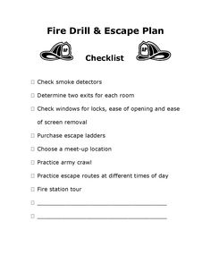 Fire Escape Planning Tool  Create Your Home Fire Escape Plan