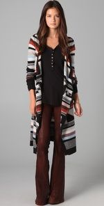 Free people long cardi