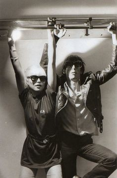 Debbie Harry and Iggy Pop