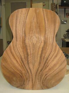 Loucin Guitar Monkeypod wood...