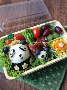 Cuisine Paradise | Singapore Food Blog - Recipes - Food Reviews - Travel: [i-Love Mama Healthy Meal] Panda Bento Set