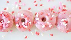 Strawberry Buttermilk Donuts for Valentine's Day | Epicure.com Desserts Menu, No Cook Desserts, Gluten Free Desserts, Dessert Recipes, Saint Valentine, Valentines Day, Epicure Recipes, Popcorn Seasoning, Perfect Portions