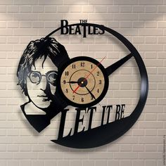The Beatles Design Vinyl Wall Clock Home Decor Gift ** More info could be found at the image url. (This is an affiliate link and I receive a commission for the sales) Vinyl Record Crafts, Vinyl Art, Vinyl Records, The Beatles, Beatles Art, Unique Clocks, Cool Clocks, Record Clock, How To Make Wall Clock