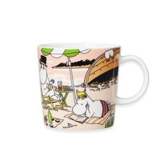 Moomin Mugs, Moomin Shop, How To Make Crepe, How To Make Pancakes, The Beach, Tove Jansson, Novelty Items, Sissi, Crepes