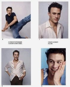 Heath Ledger Joker, Heath Ledger Young, You Are My Moon, Australian Actors, Cinema, E 10, Beautiful Soul, Johnny Depp, Cute Guys