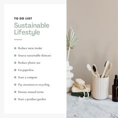 Do you have a to-do list to share to your audience? Here's one simple and easy way to do it! Sustainability, Instagram Post Template, Business Branding, Eco Friendly, The Creator, Environment, Cleaning, Templates, Live