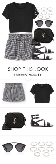 """Style #10445"" by vany-alvarado ❤️ liked on Polyvore featuring MANGO, Monki, Yves Saint Laurent, Forever 21 and Christian Dior"
