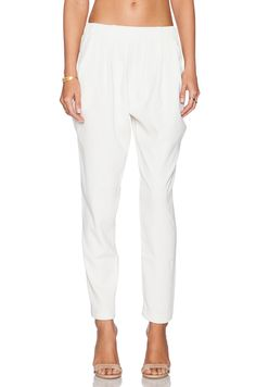 Assali Nomad Pant in White