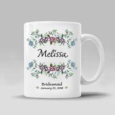 Bridesmaid Mug Personalized Gift From Bride Bridesmaids Custom