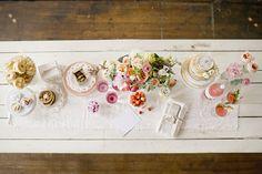 Sweet Tooth: Dessert Table: Brunch Bash  {atlanta weddings magazine via shauna younge}