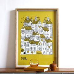 Lisa Jones Town signed print