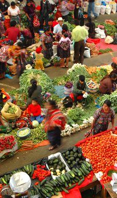 Mercados del altiplano guatemalteco