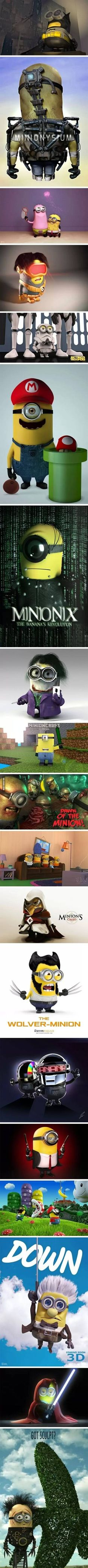 Minions!!!!!!!! This might be better than the other one!!