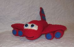 Ravelry: Red the Airplane by Melissa's Crochet Patterns