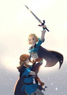 The Legend of Zelda The Legend Of Zelda, Legend Of Zelda Memes, Legend Of Zelda Breath, Princesa Zelda, Botw Zelda, Nintendo Characters, Nintendo Games, Link Art, Manga Anime