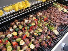 Savings for Sisters: Recipe - Steak and Vegetable Kabobs
