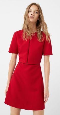 Red dress - MANGO