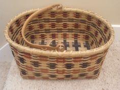 Handwoven American Indian Style Market Basket. $60.00, via Etsy.