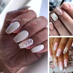 Nailed It, Chevron, Nails, Beauty, Hot Pink, Finger Nails, Ongles, Beauty Illustration, Nail