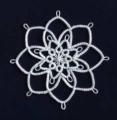 Darlene Polachic_Big Book of Tatting_Jack Frost Snowflake
